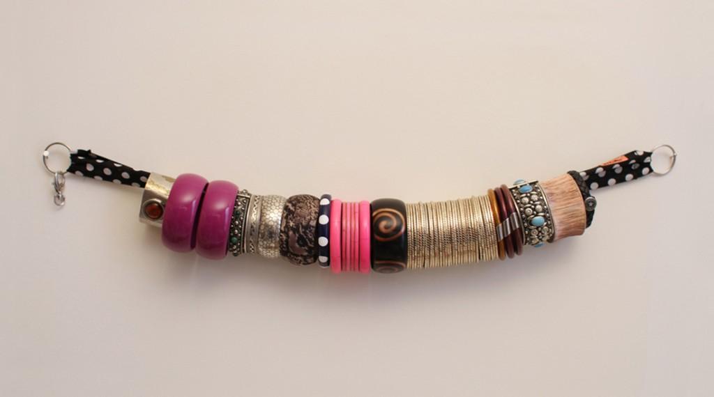 Ruban court /bijoux /slide