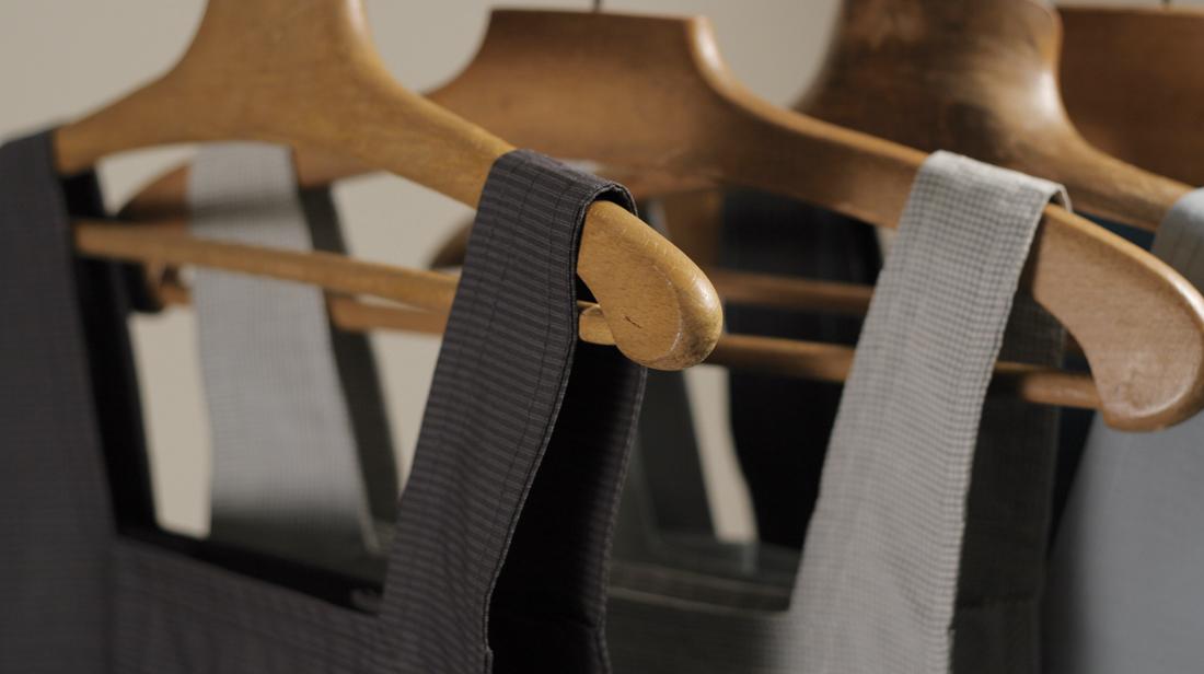 Sac tissu /sur cintre /slide