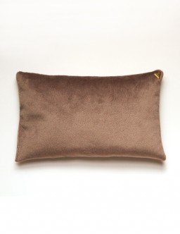 Coussin Chibi - velours /beige/