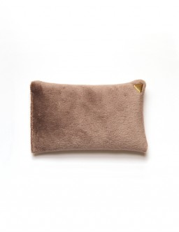 Coussin Chibi small - velours /beige/