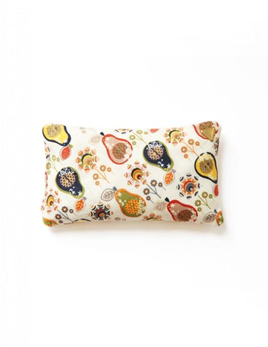 Coussin Chibi small – tissu /poires/